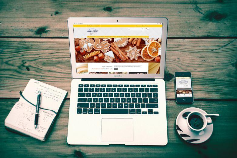 Создание сайта для компании Ovaletta